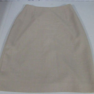 Focus 2000 by Charles Glueck Wool Skirt Brown 8